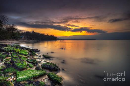 English Landscapes - Binstead Sunset
