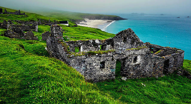 Blasket Island by Florian Walsh