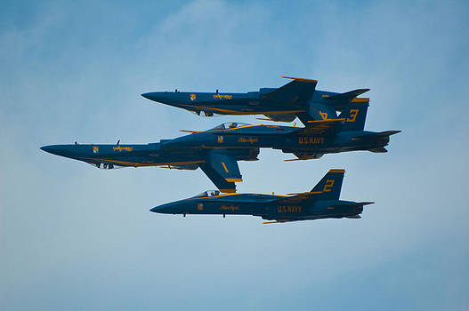 Blue Angels by Sheri Heckenlaible