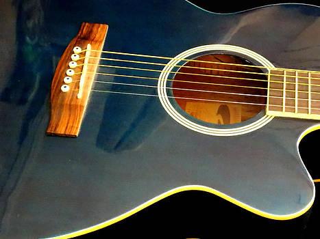 Blue Guitar by Chris Cox