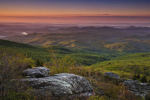 Blue Ridge Morning by Andrew Soundarajan
