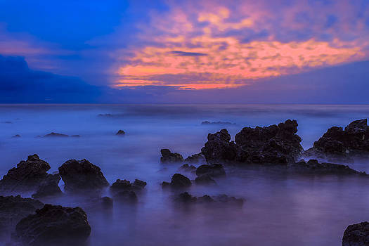 Blue Sunrise 1 by Leigh Anne Meeks