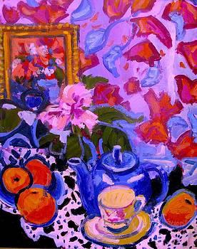 Blue Teapot by Brian Simons