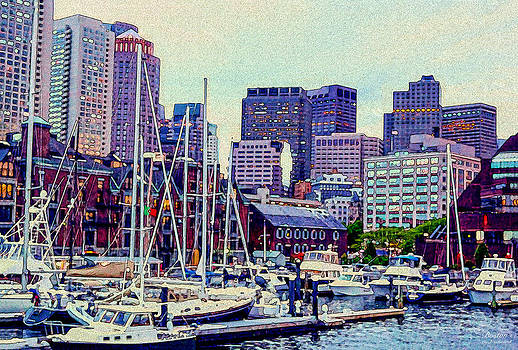 Boston Waterfront by Carol Sutherland