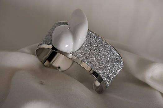 Bracciali a fascia con  marmo  Bracelet band with marble design by Emanuele Rubini by Emanuele Rubini