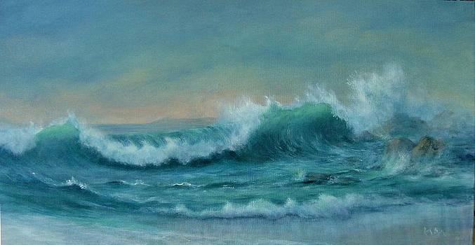 Breaking Wave by Rita Palm