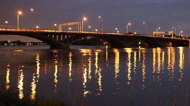 Bridge over Water by Jocelyne Choquette