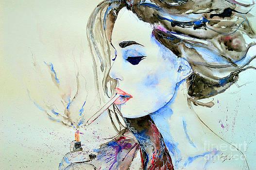 Brigitte Bardot by Ismeta Gruenwald