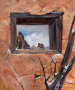 Broken Shelter by Birgit Seeger-Brooks