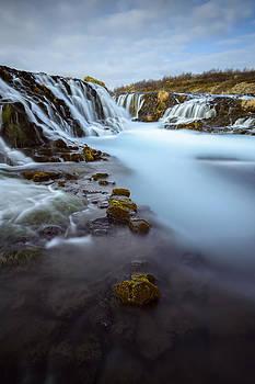 Bruarfoss Waterfall by Vinicios De Moura