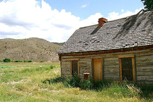 Butch Cassidy's Childhood Home by Louise Morgan