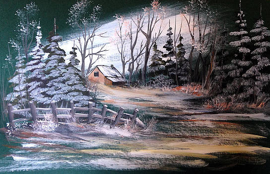 Cabin in the Woods by Dorothy Maier