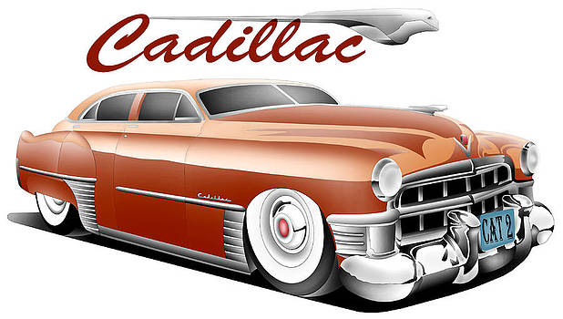 Caddy Toon II by Lyle Brown