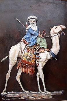 Camel Riding by Abbas Djamat