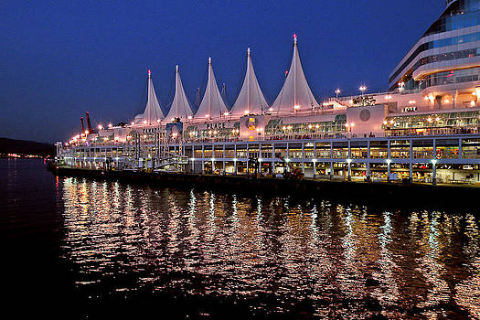 Canada Place by Brian Chase