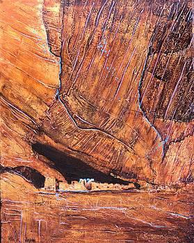 Canyon De chelly by JAXINE Cummins