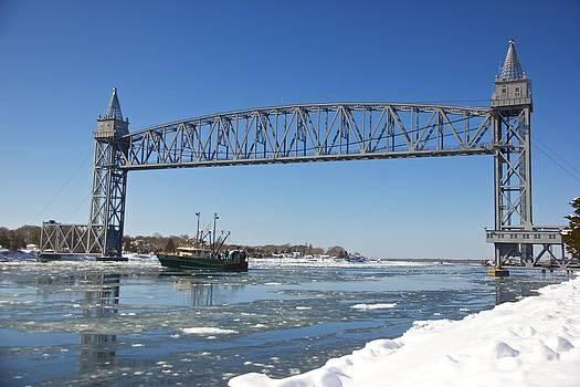 Cape Cod Train Bridge by Amazing Jules