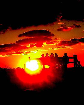 Cape Light Show by Glenn McCurdy