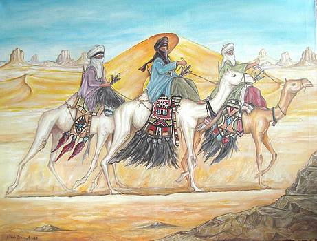 Caravan by Abbas Djamat