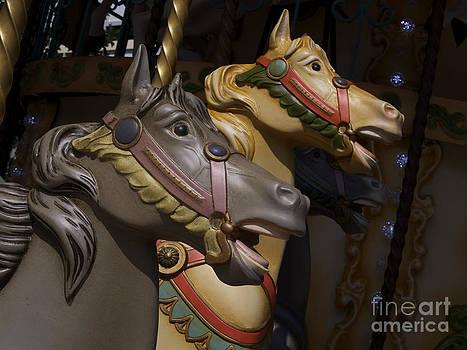 BERNARD JAUBERT - Carousel horses