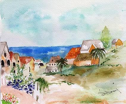Carribean Village by Sandi Stonebraker