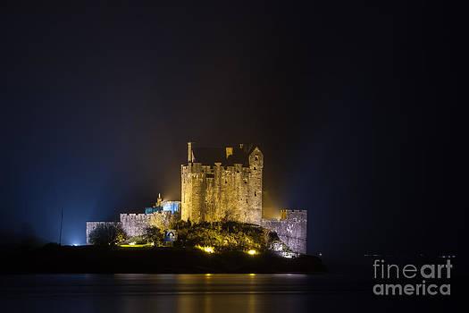 Castle Eilean Donan Scotland by Gabor Pozsgai