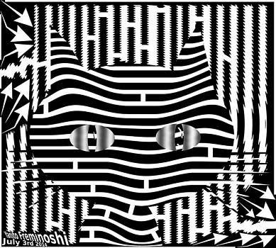 Cat Maze by Yanito Freminoshi