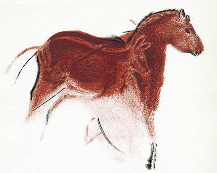 Sheila Terry - Cave Painting Of Horse And Hind