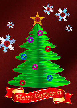 Jeanette K - CD Christmas Tree