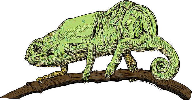 Chameleon by Karl Addison