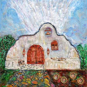 Chapel At Tubac Resort by Joe Bourne