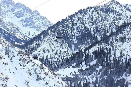 Chimbulak ski resort by Daliya Photography