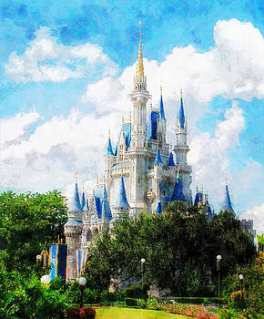Cinderella Castle by Sandy MacGowan