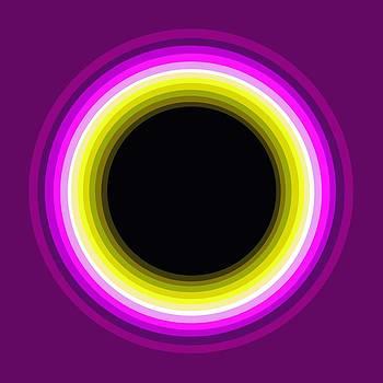 Circle Motif 143 by John F Metcalf