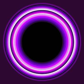 Circle Motif 144 by John F Metcalf