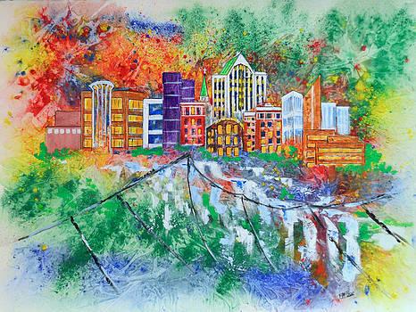 Cityscape 2 by Edith Hardaway