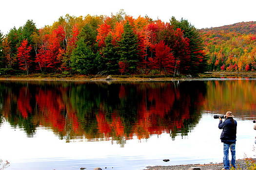Colorful reflection by Arie Arik Chen