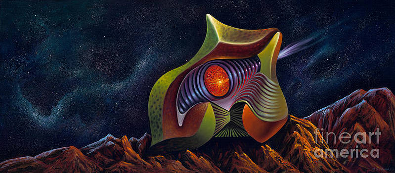 Cosmic Invader by Birgit Seeger-Brooks