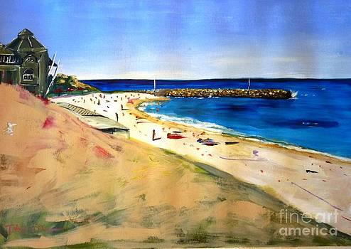 Cottesloe Beach by Therese Alcorn