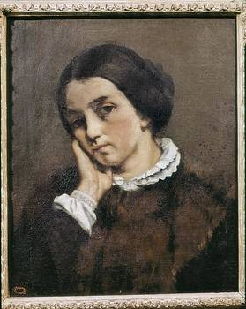 Courbet, Gustave 1819-1877. Portrait by Everett