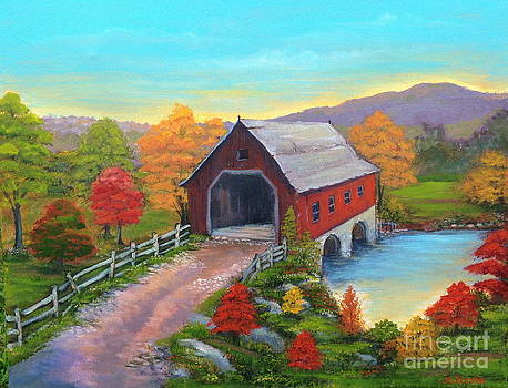 Covered Bridge by Julissie Saltzberg
