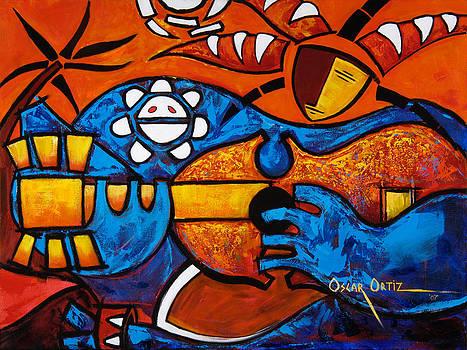 Cuatro en grande by Oscar Ortiz