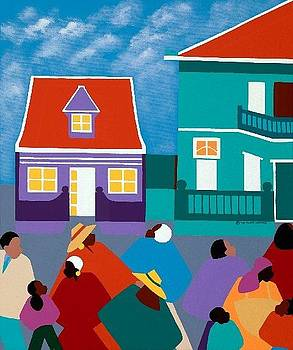 Curacao Dreams II by Synthia SAINT JAMES