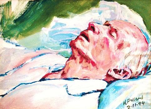 Dad dying by Herschel Pollard