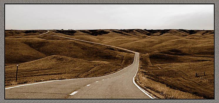 Dakota Highway 1804 by Thomas Bomstad