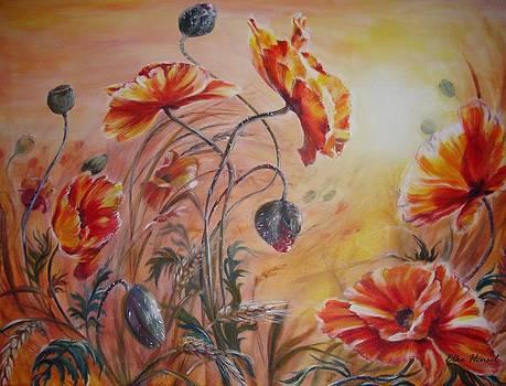Dance Of The Fairies by Elke Hensel