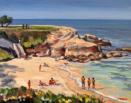 Day at La Jolla Cove by Robert Gerdes