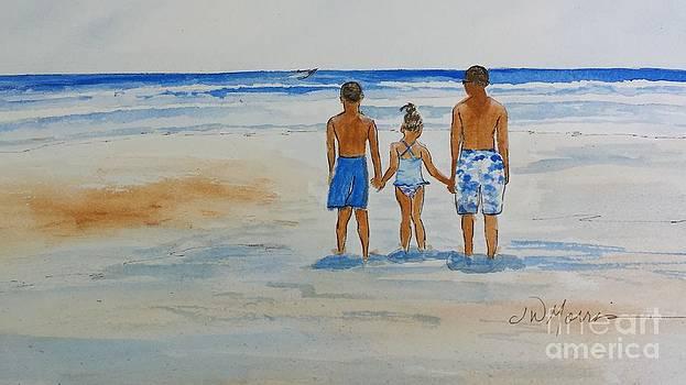 Day at the Beach by Jill Morris