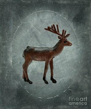 BERNARD JAUBERT - Deer figurine