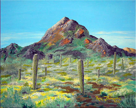 Desert Solitude by Ron Thompson